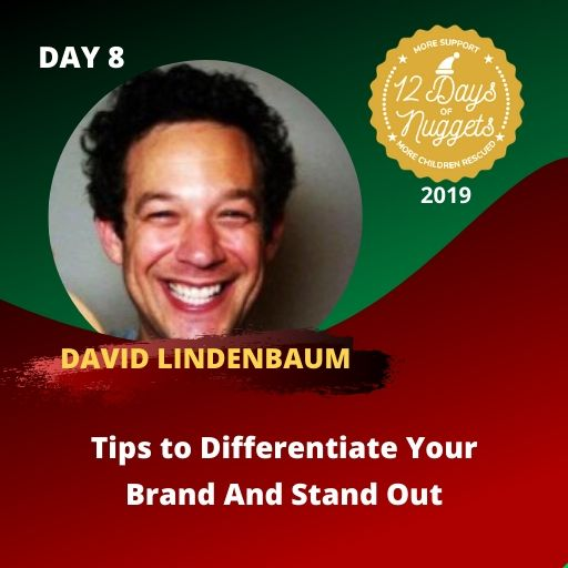 DAY 8: Tips to Differentiate Your Brand And Stand Out by David Kombucha Lindenbaum