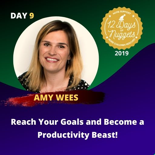 DAY 9: ? Reach Your Goals and Become a Productivity Beast! by Amy Wees