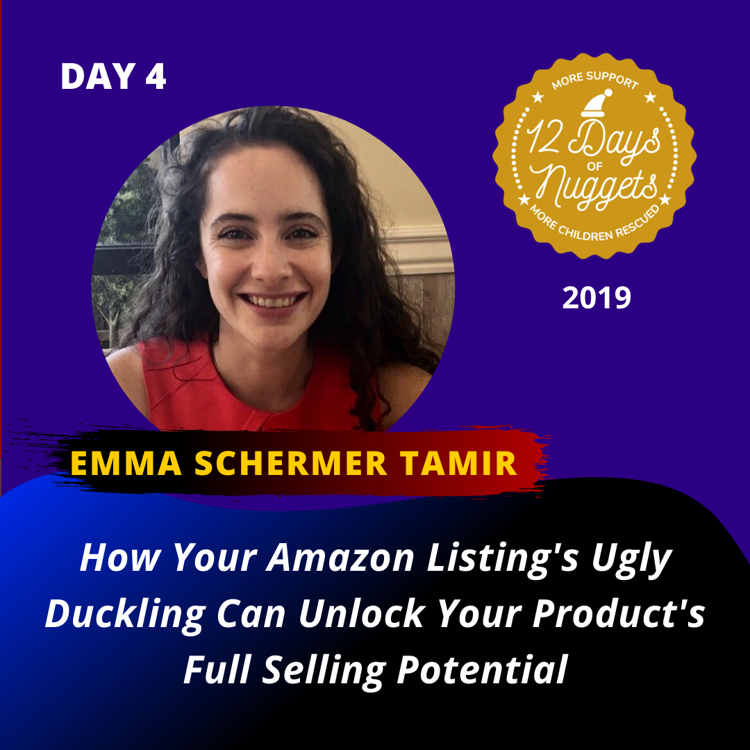 DAY 4: ? How Your Amazon Listings Ugly Duckling Can Unlock Your Products Full Selling Potential