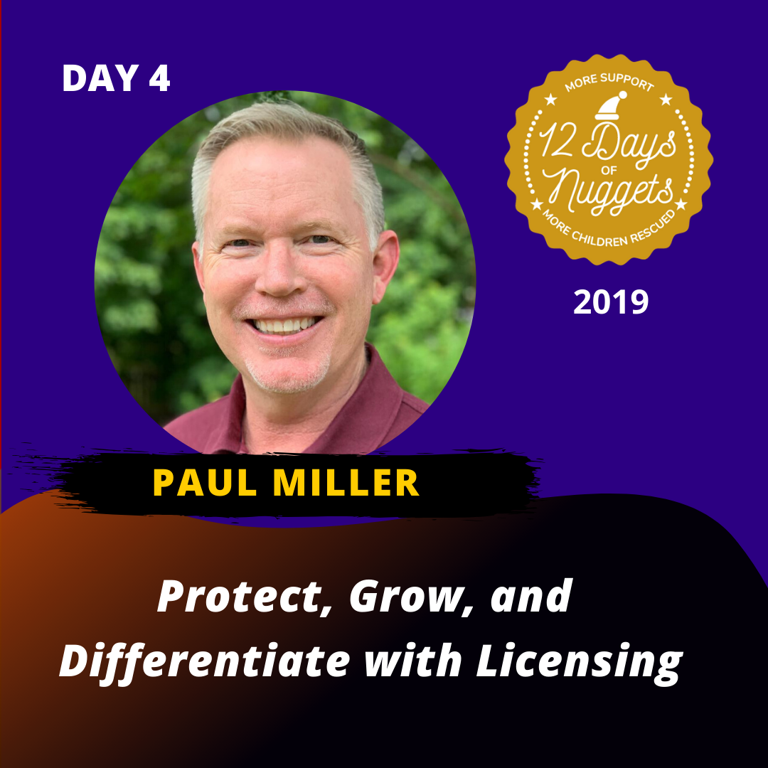 DAY 4: Protect, Grow, and Differentiate with Licensing