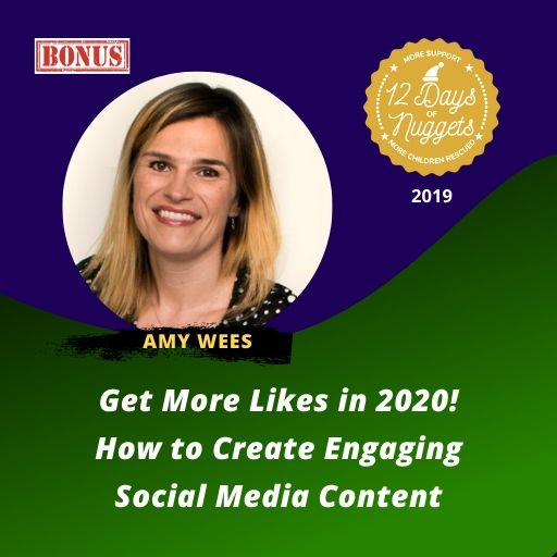 BONUS Nugget: Get More Likes in 2020! How to Create Engaging Social Media Content with Amy Wees