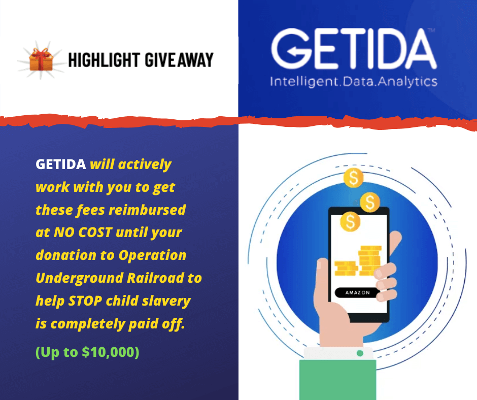 HIGHLIGHT SPONSOR GIVEAWAY from GETIDA!