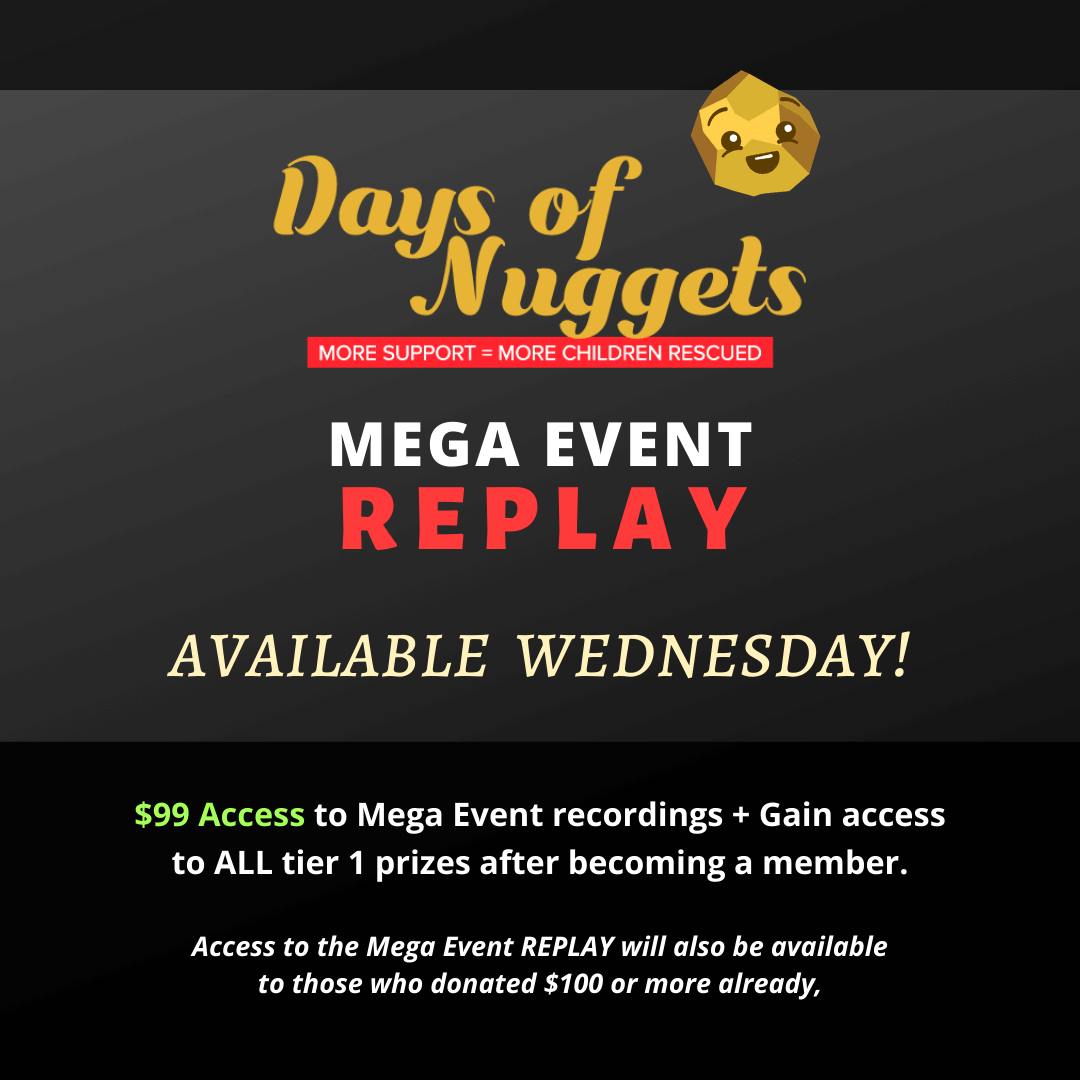Days of Nuggets Mega Event REPLAY Available This Wednesday, JAN 29!